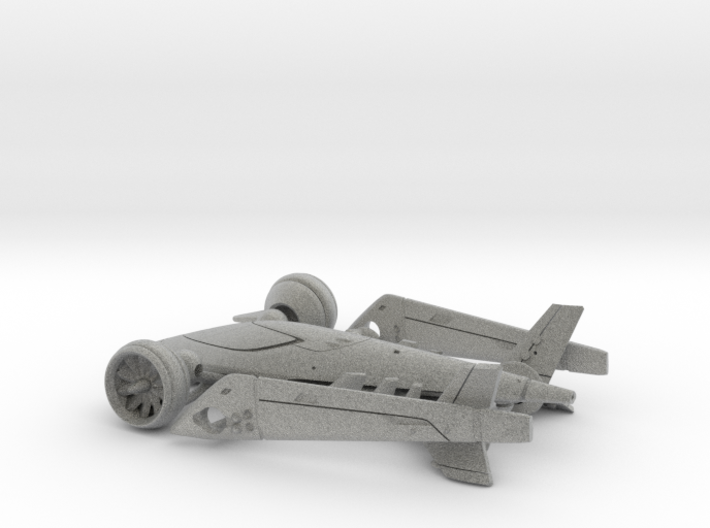 Flakker the flying car - Concept Design Quest 3d printed