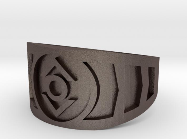 Indigo (Band Size 15 1/2) 3d printed