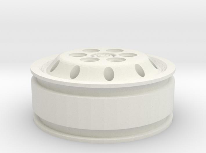 Jante Alcoa pour pneu 11.00 x 22.5 avec style Scan 3d printed