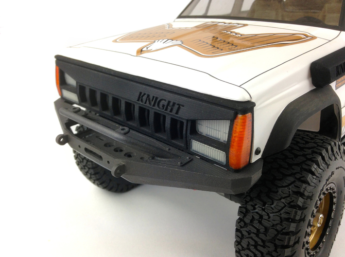 Jeep Cherokee Xj Angry Grill