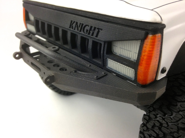 XJ10001 XJ ANGRY Grill (for Pro-Line XJ) 3d printed Shown fitted with the XJ10002 Pro-Line XJ Grill Lens (sold separately).