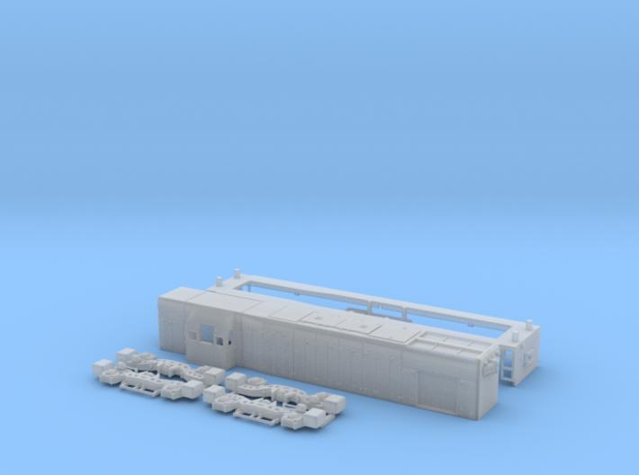 N Scale G12 locomotive 3d printed