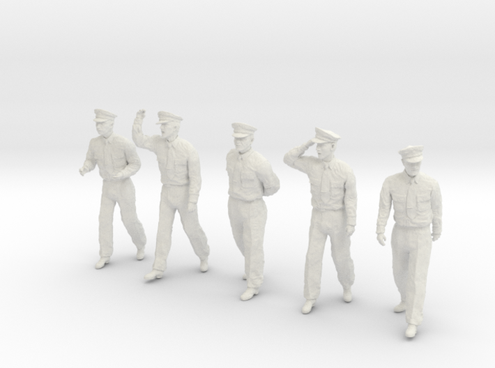 1-20 USN Officers Set1-16 3d printed