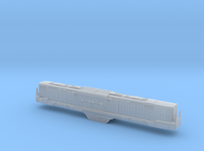 N Scale Alco C-855B Locomotive Shell Only-No Parts 3d printed