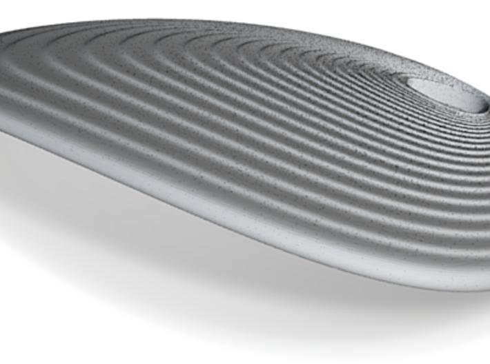 Shell Pendant (#2412) 3d printed