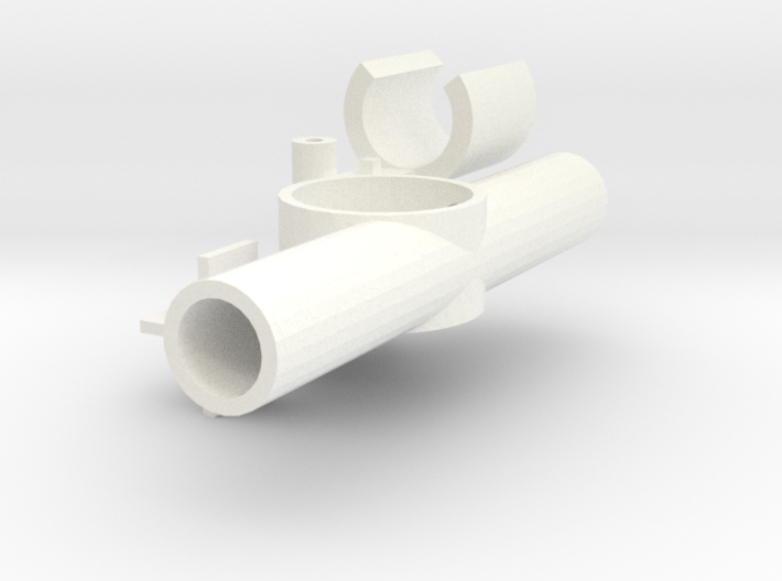 Bow Thruster (5mm channel, low height) 3d printed