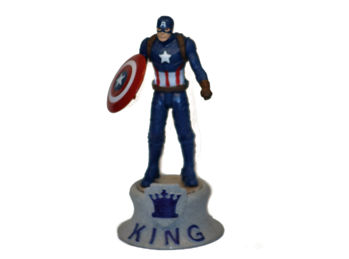 Chess Traders™ - King 3d printed Example - Figure Not Included