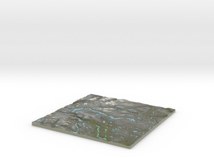 Terrafab generated model Sat Jul 02 2016 07:35:59 3d printed