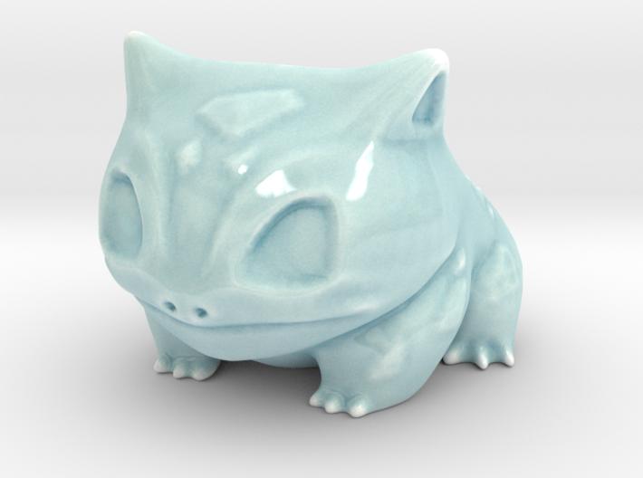 New bulbasaur planter 3d printed