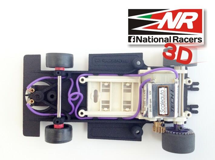 3D chassis - SRC Ferrari 312 PB V1.0 (SW) 3d printed Top view