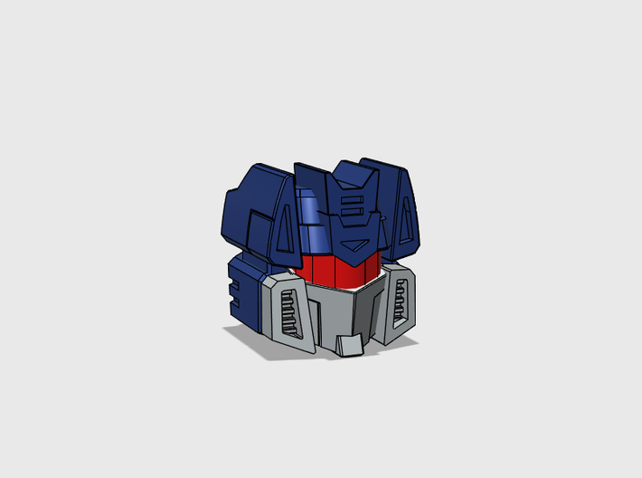Communications Officer Head for Combiner Wars truc 3d printed