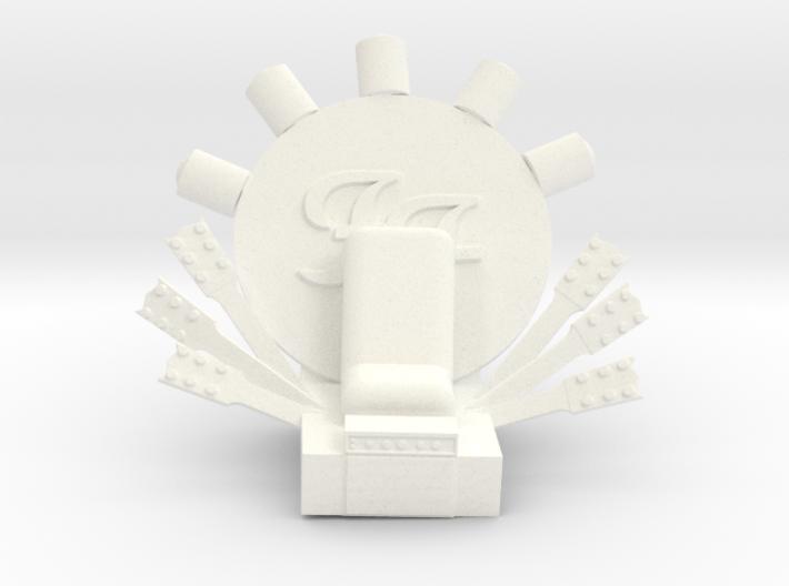 Foo Fighters Throne 3d printed