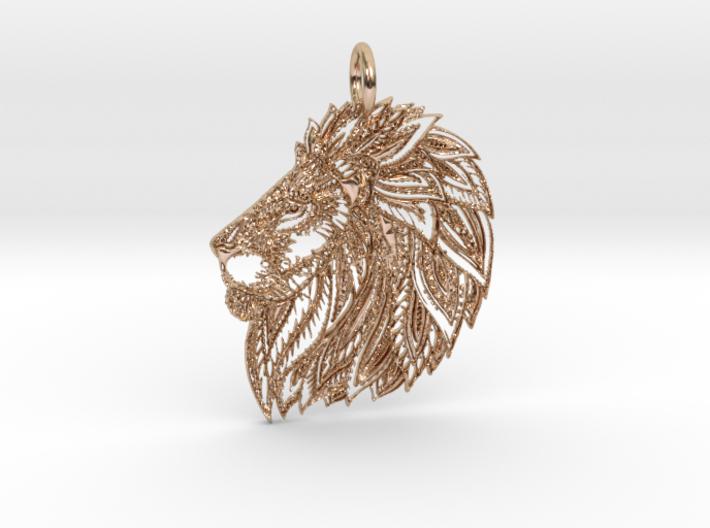 LEO Majesty Pendant 3d printed