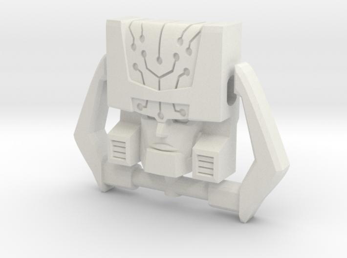 Headmaster, G1 Neutral Face (Titans Return) 3d printed