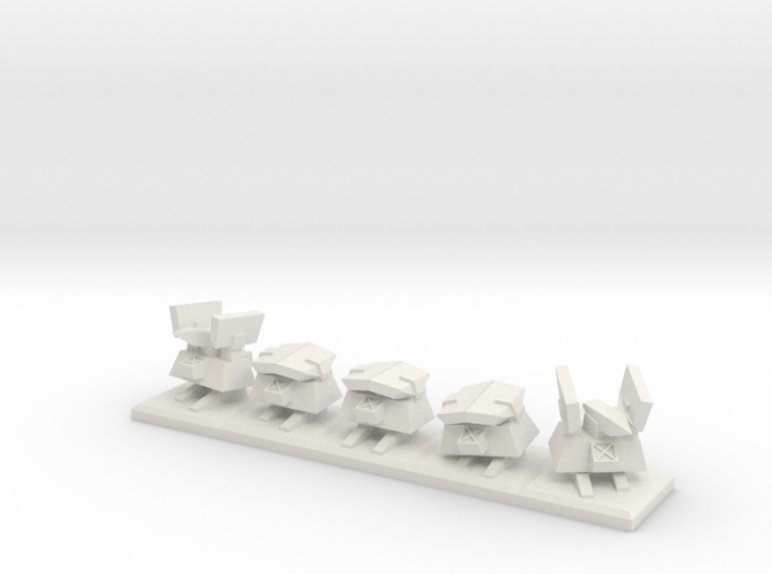 TA Construction Kbot Squad - 1cm tall 3d printed