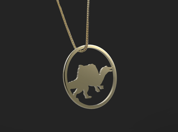 Spinosaurus necklace Pendant 3d printed