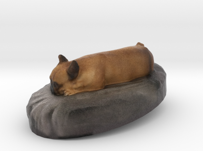Louis The Frenchie 3d printed