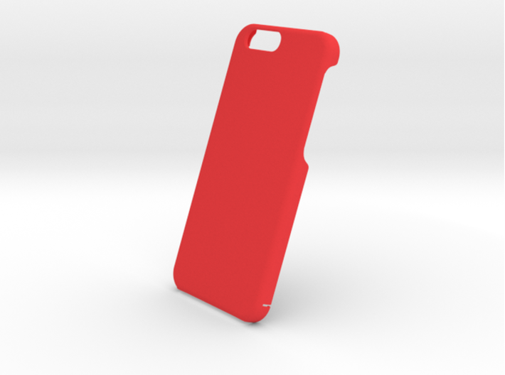 Cover for iPhone 6 (engraved logo and text) 3d printed