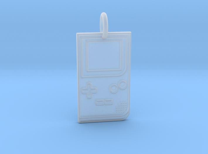 Game Boy 1989 Pendant 3d printed