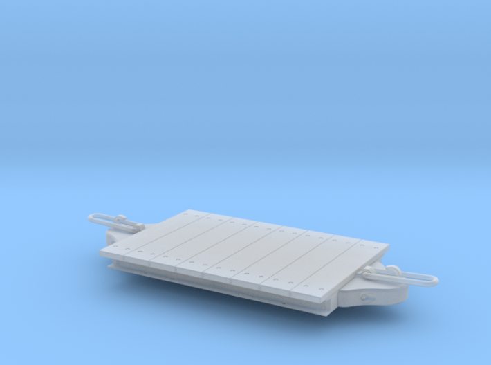 1:24 Gn15 Fowler Style Platform Wagon 3d printed