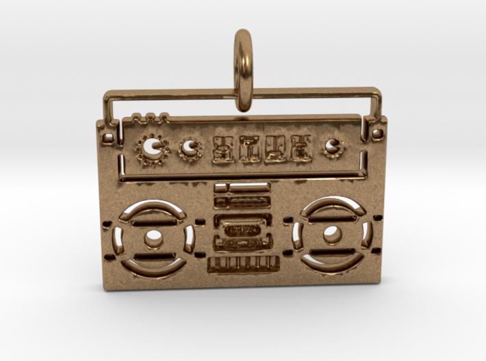 Radio Pendant 3d printed
