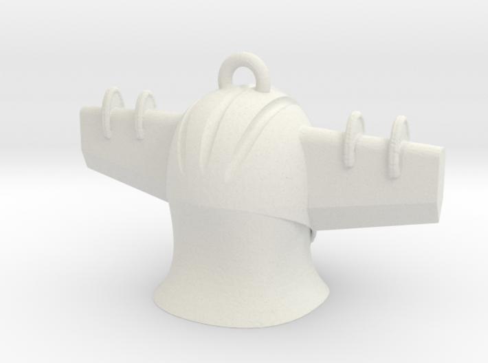 Jeeg Head Pendant2 3d printed