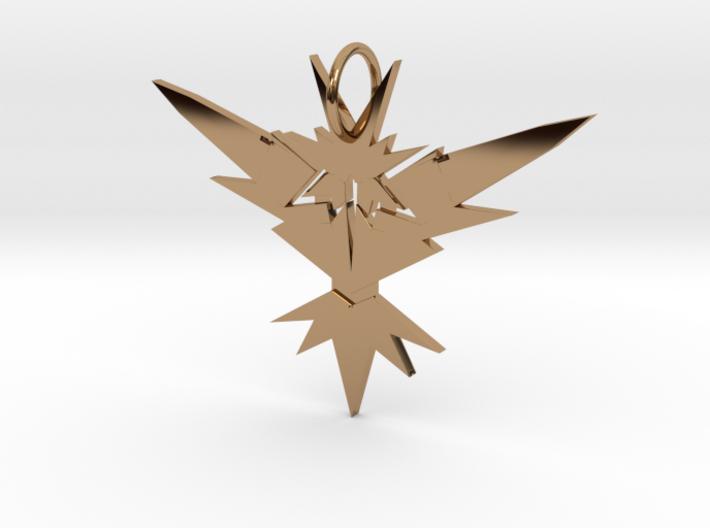 Instinct Necklace 3d printed