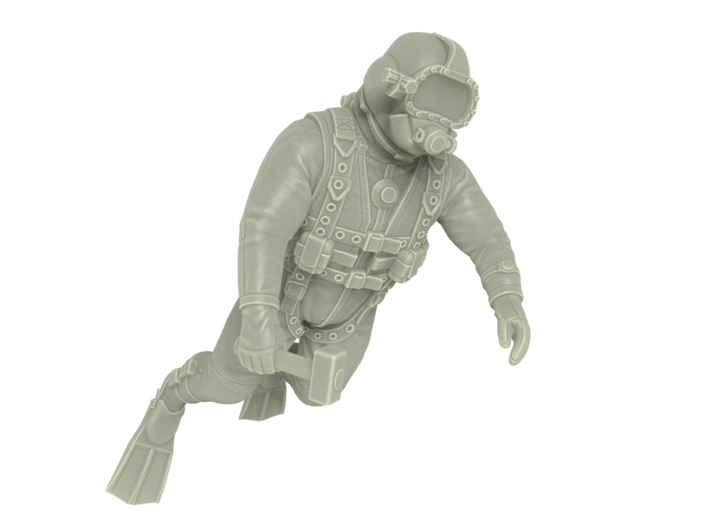 Commercial Diver 3d printed