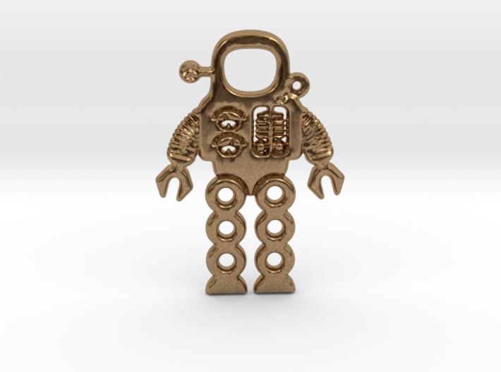Mars Robot Pendant 3d printed