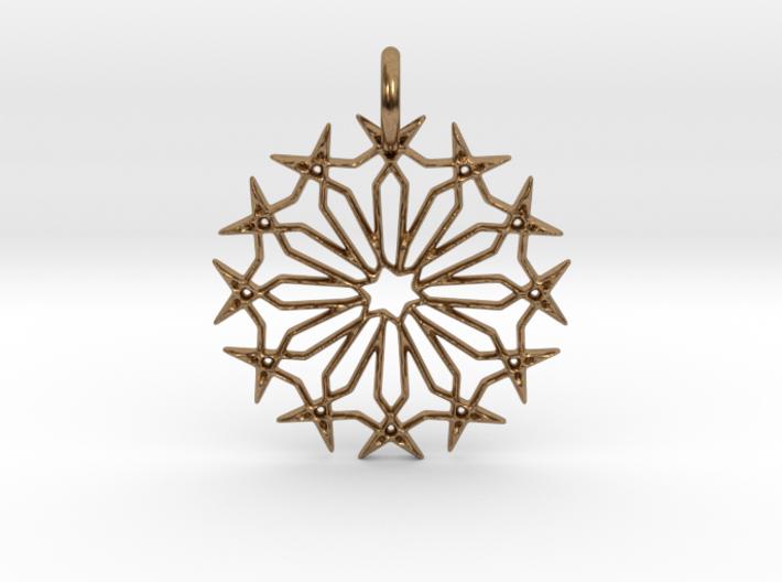 Star No.2 Pendant 3d printed