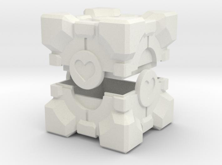 Companion Cube Box 3d printed