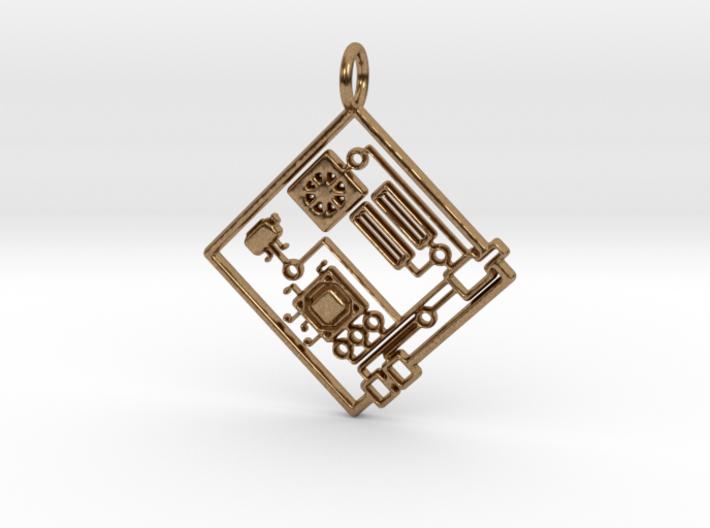 Circuit 1.0 Pendant 3d printed