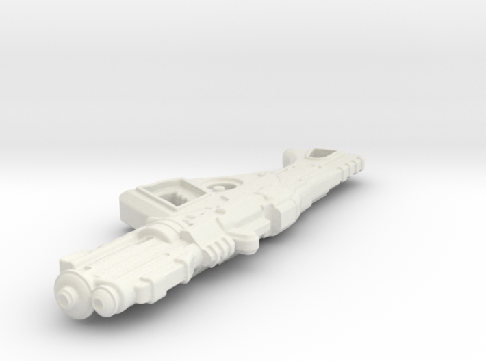 1:6th Scale 'Falcor' Assault Rifle 100mm Length 3d printed