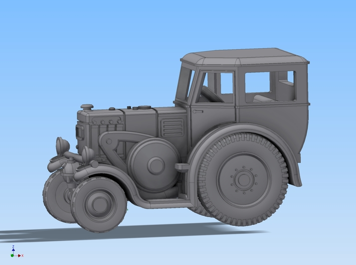 Lanz Bulldog HR7 / D8539 in 1:160 3d printed