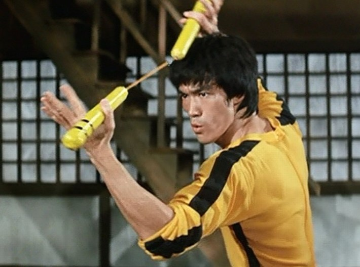 "1/15 scale Bruce Lee ""Game of Death"" figure 3d printed"