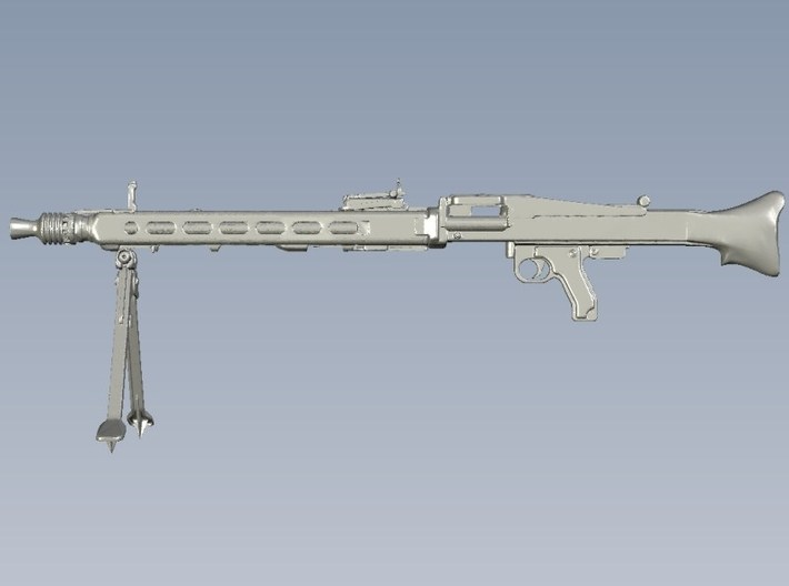 1/16 scale WWII Wehrmacht MG-42 machinegun x 1 3d printed