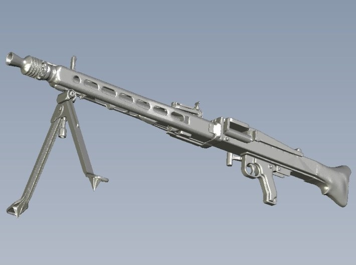 1/18 scale WWII Wehrmacht MG-42 machinegun x 1 3d printed