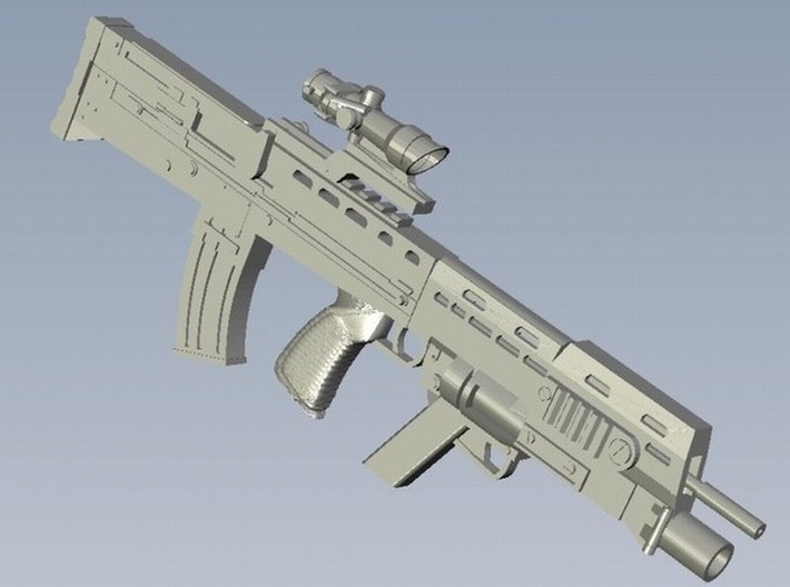 1/15 scale BAE Systems L-85A2 rifles x 3 3d printed