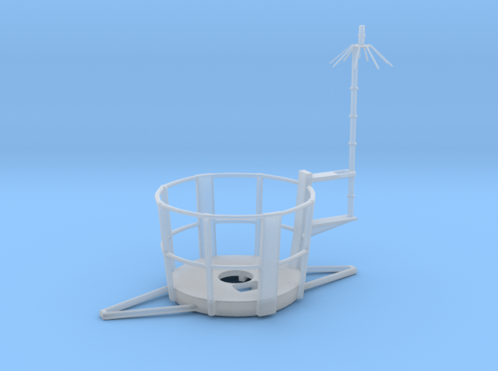 1/48 Top Platform for Main Mast 3d printed