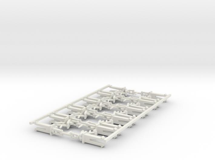 H0-10 Attelages à vis boîtier NEM 3d printed