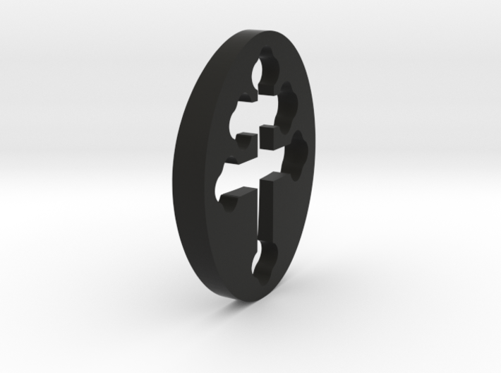 TEAM RING FILL SIZE 7 3d printed