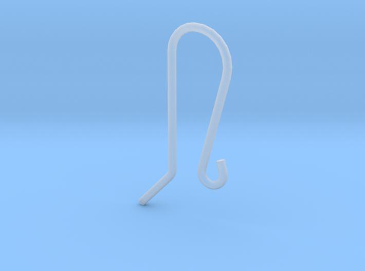 Earring Hook 1 3d printed