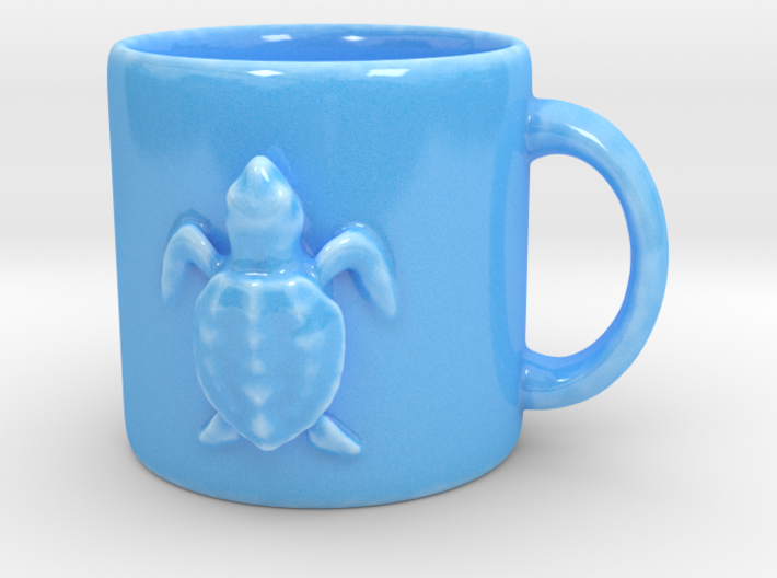 Kemps Ridley Baby Sea Turtle Coffee Mug 3d printed