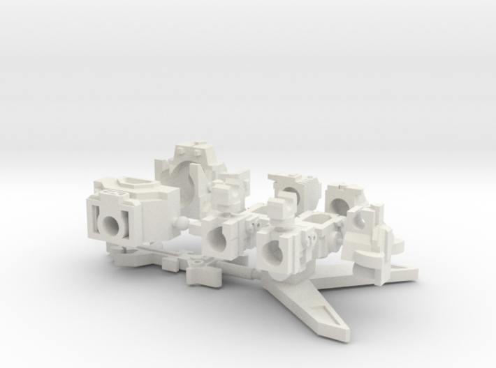 Big Cat Robot Deluxe Upgrade Set 3d printed