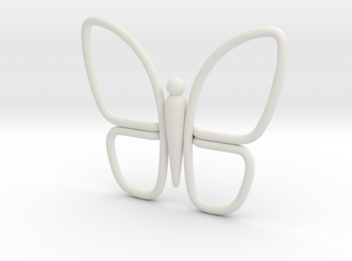 Eternal Butterfly 1 3d printed