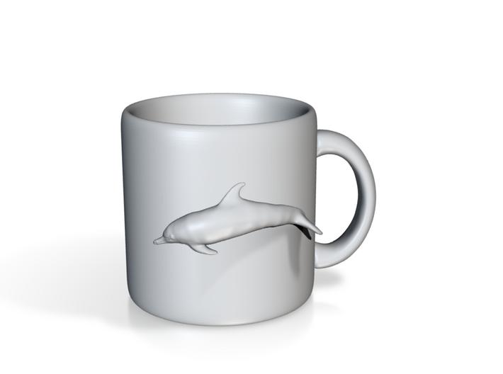 Dolphin Coffee Mug 3d printed