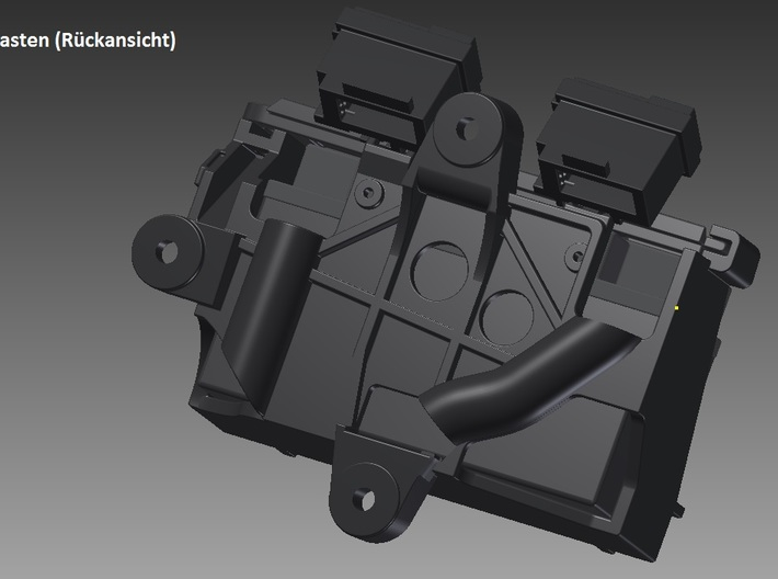 Ducati 1299s (Pocher 1:4) - Battery and Bracket 3d printed
