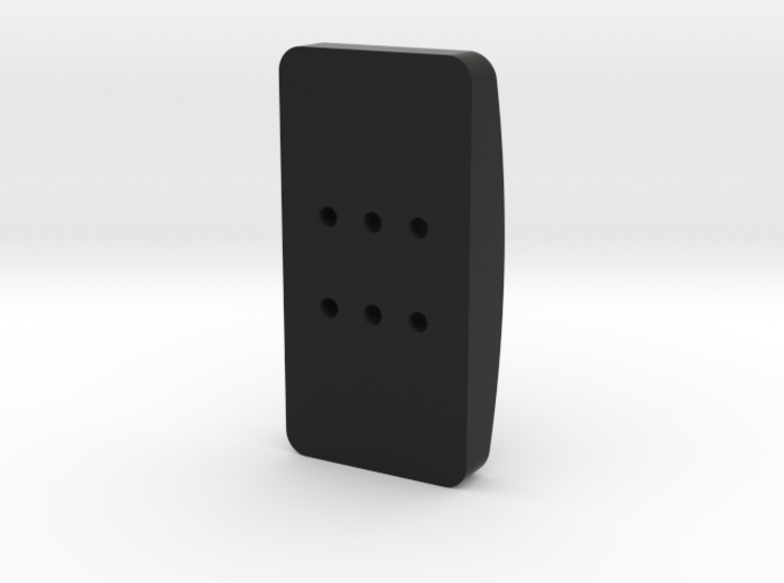 Tilton style accelerator or clutch pedal for T3PA, 3d printed