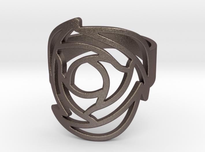Rose Ring US 11 3d printed