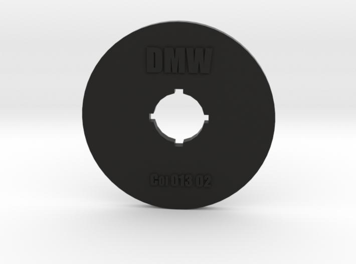 Clay Extruder Die: Coil 013 02 3d printed